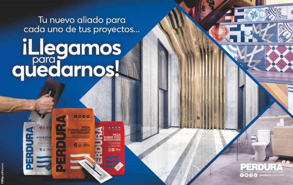 Adhesivos de Jalisco Perdura Los mejores pega pisos, junteadores y estucos.