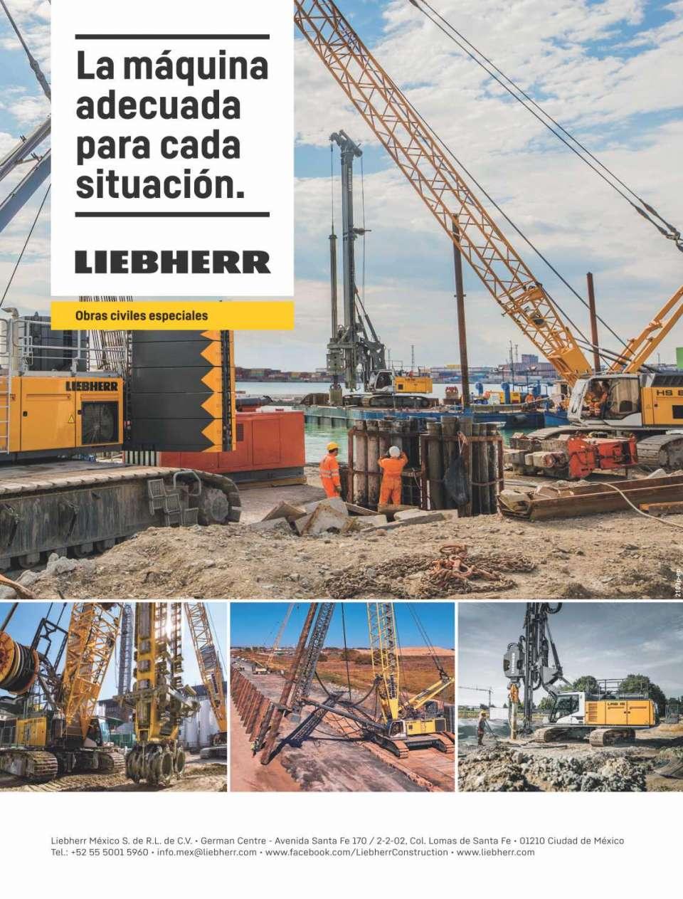 Liebherr Crawler Cranes Heavy Duty Series HS