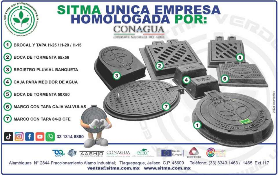 sitma alcantarillas fácil instalación mantenimiento fabricadas en polietileno de alta resistencia