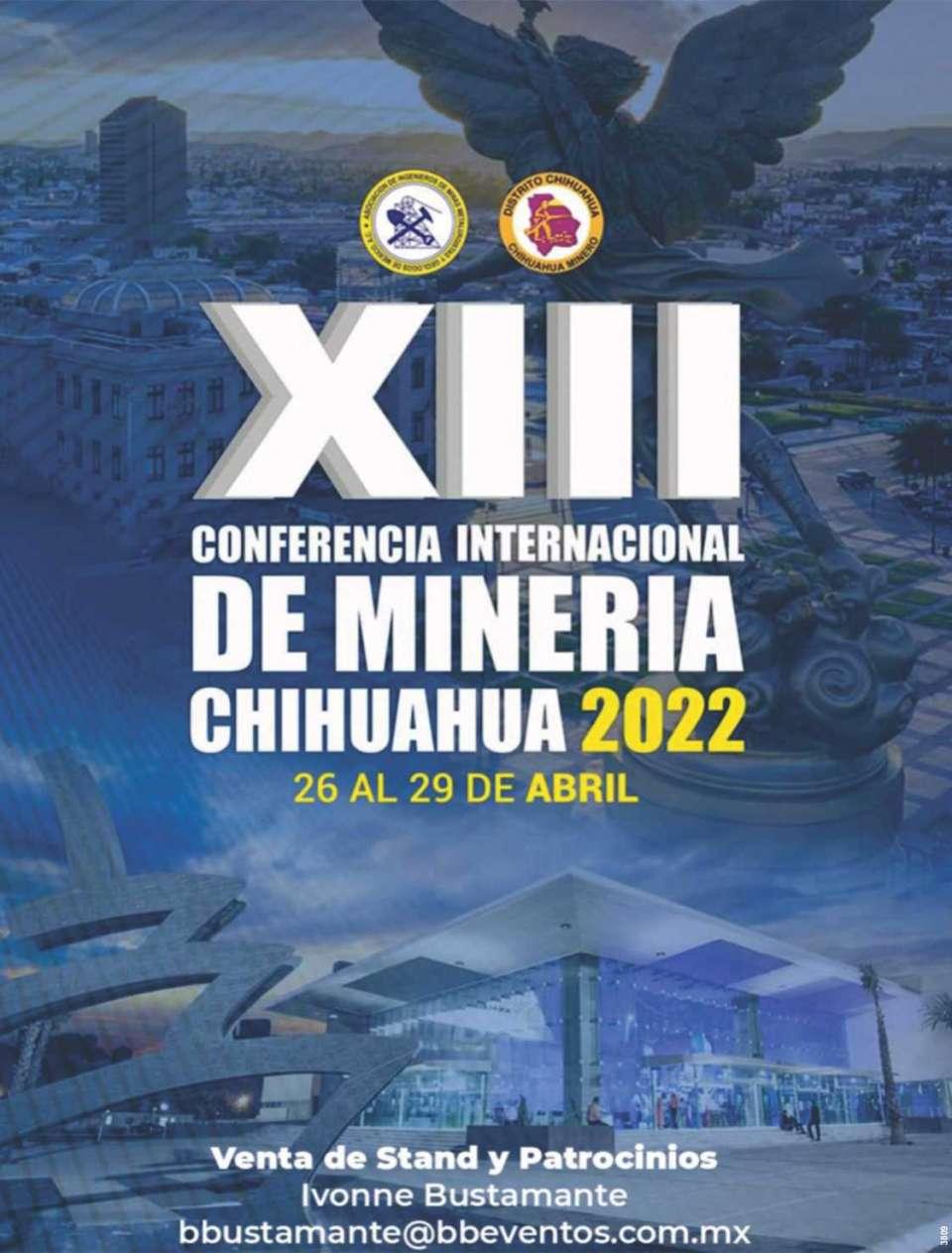 EXPOSICION DE MINERIA EN CHIHUAHUA, MEXICO