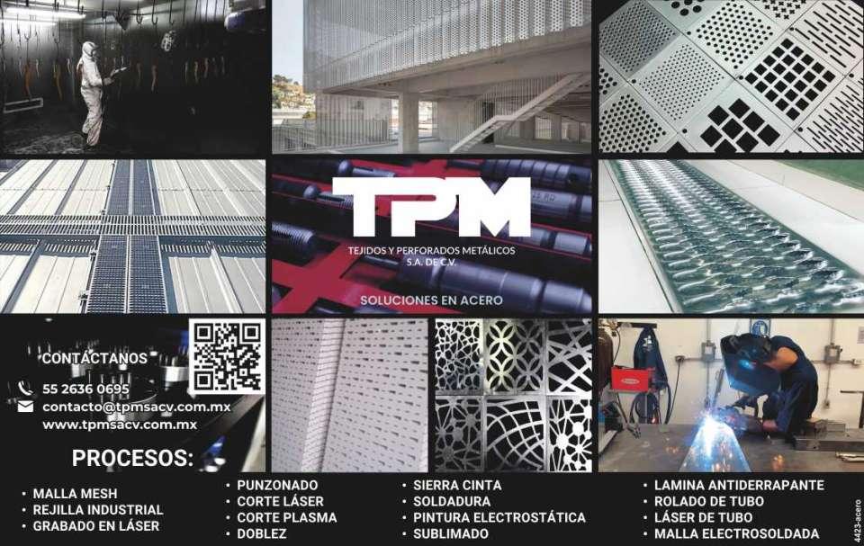 tejidos y perforados metalicos    maquiladores de acero